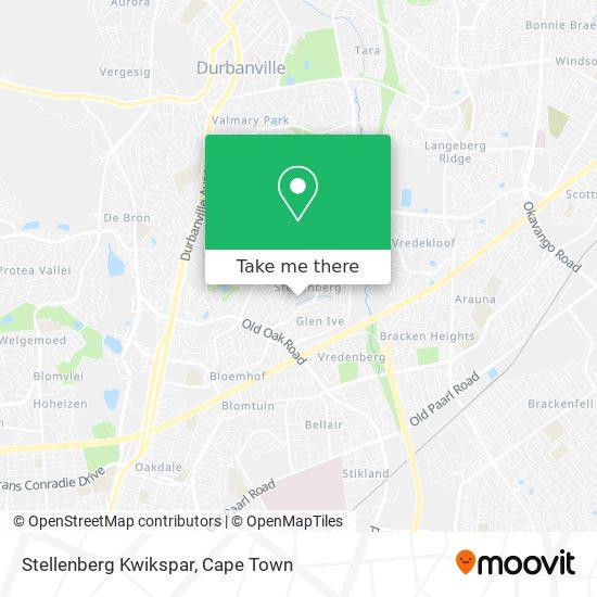 Stellenberg Kwikspar map