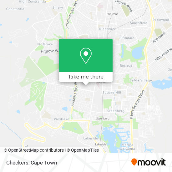 Checkers map