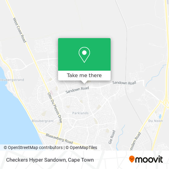 Checkers Hyper Sandown map