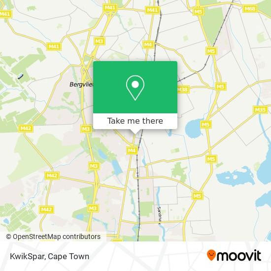 KwikSpar map