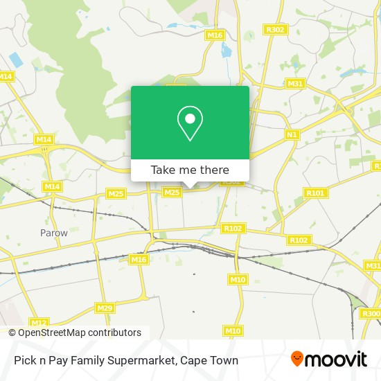 Pick n Pay Family Supermarket map