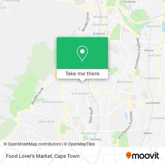 Food Lover's Market map