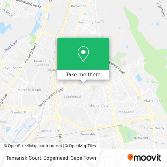 Tamarisk Court, Edgemead map