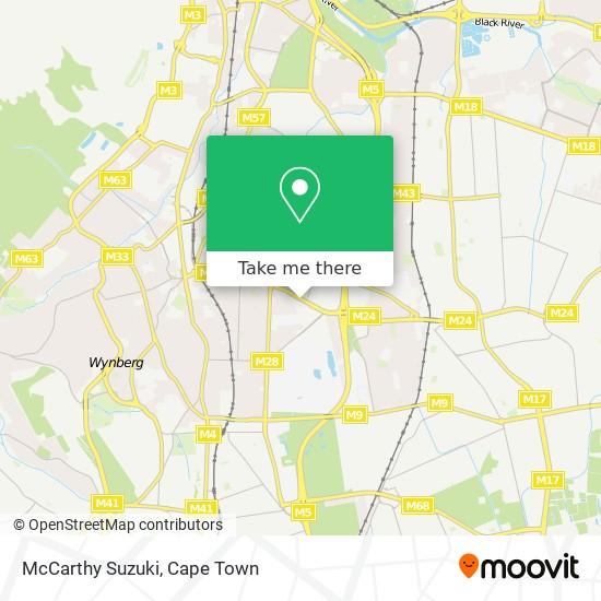 McCarthy Suzuki map