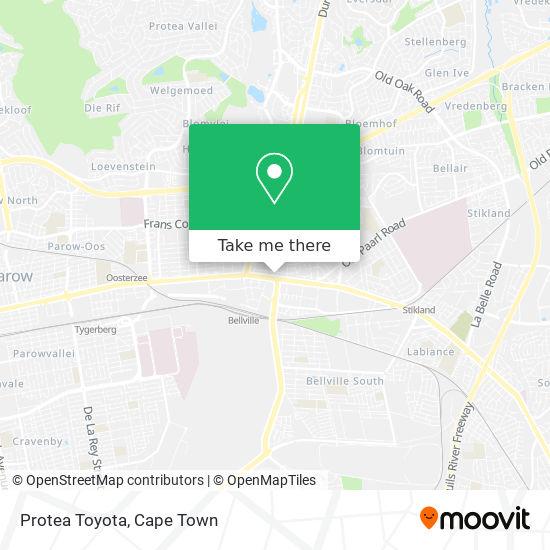 Protea Toyota map