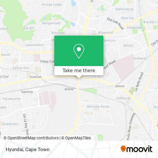 Hyundai map