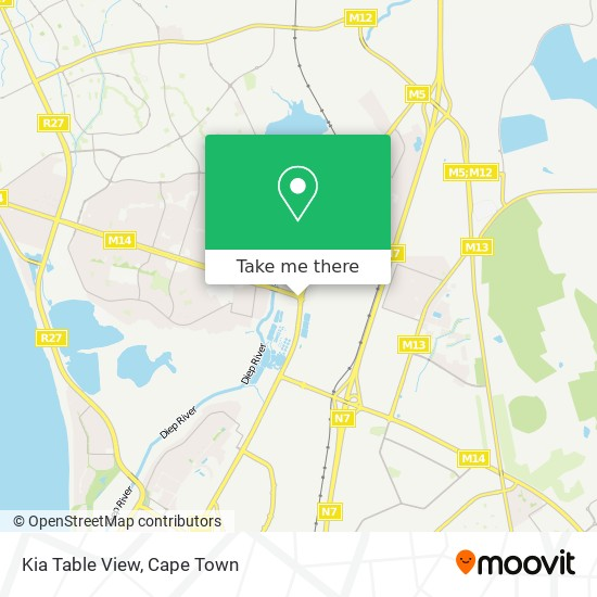 Kia Table View map