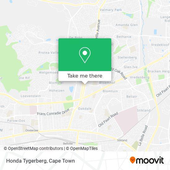 Honda Tygerberg map