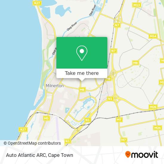 Auto Atlantic ARC map
