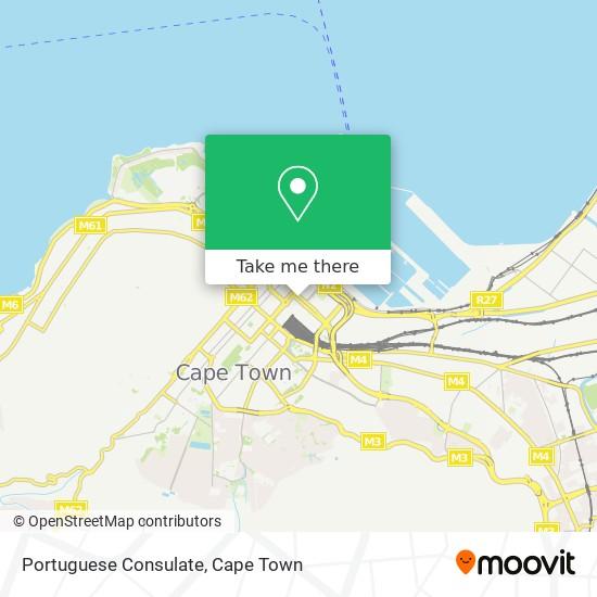 Portuguese Consulate map