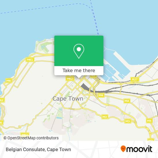 Belgian Consulate map