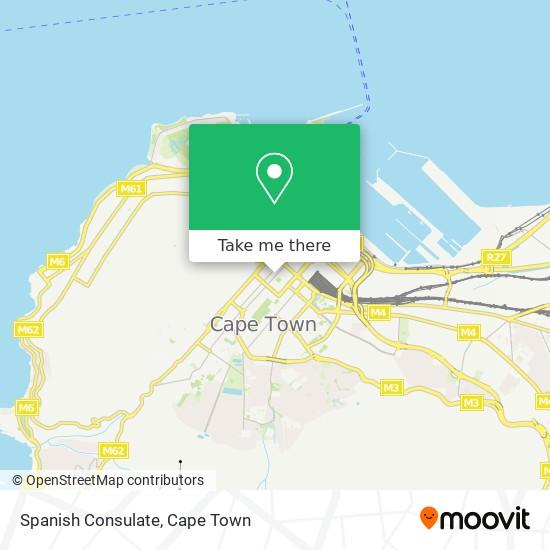 Spanish Consulate map