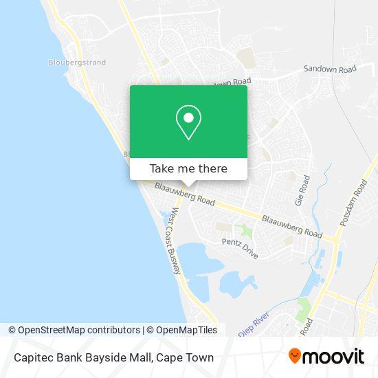 Capitec Bank Bayside Mall map