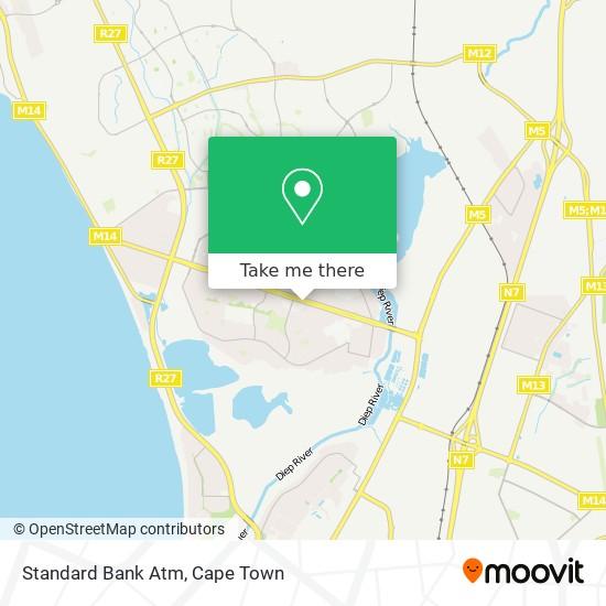 Standard Bank Atm map