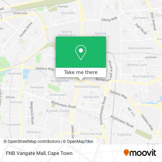 FNB Vangate Mall map