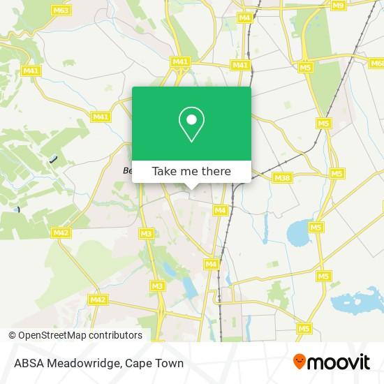 ABSA Meadowridge map