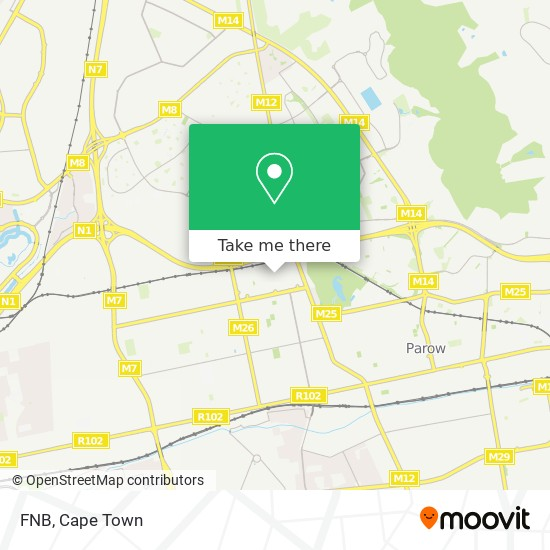 FNB map
