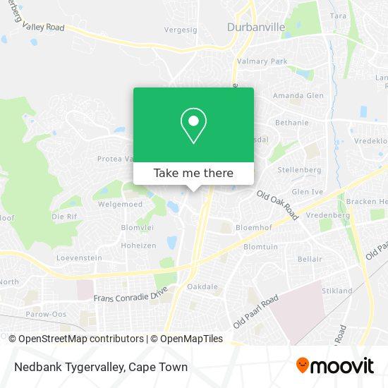 Nedbank Tygervalley map