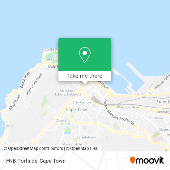 FNB Portside map