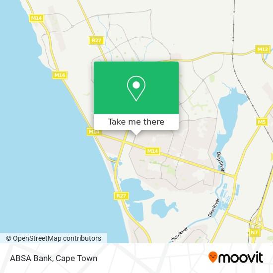 ABSA Bank map