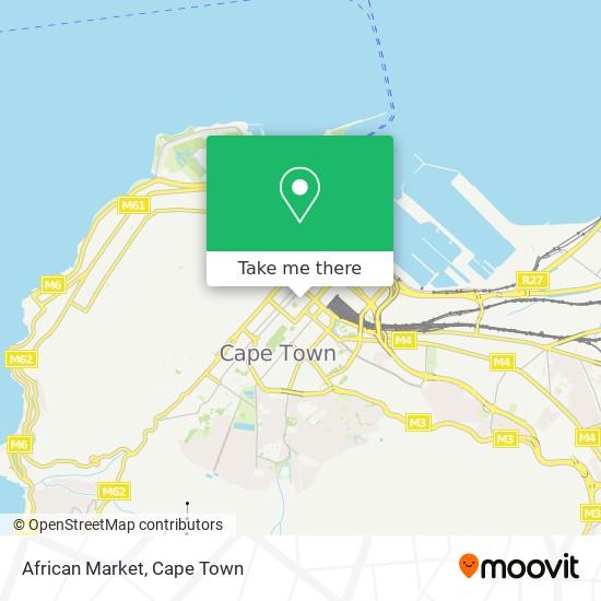 African Market map