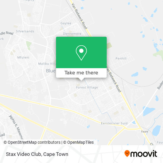 Stax Video Club map