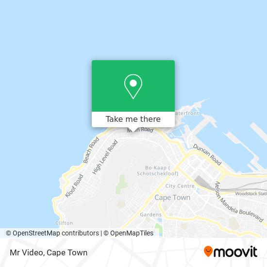 Mr Video map