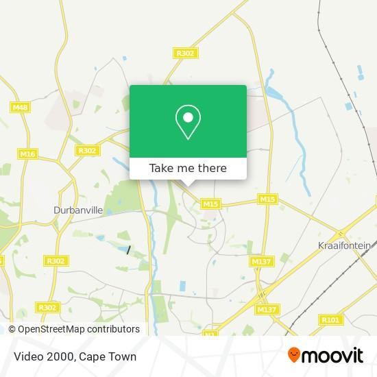 Video 2000 map