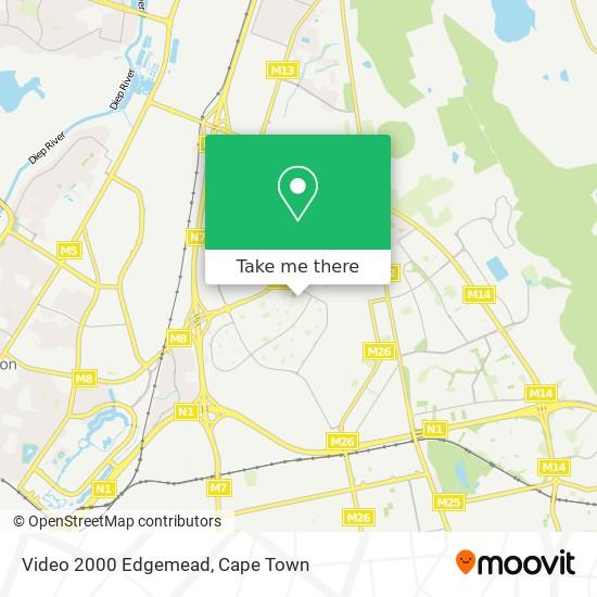 Video 2000 Edgemead map