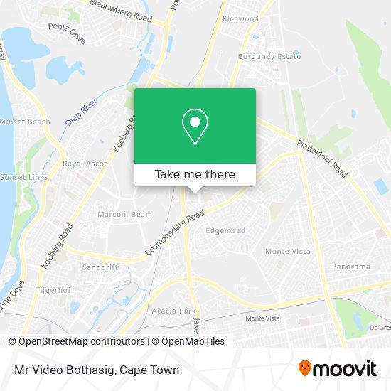 Mr Video Bothasig map