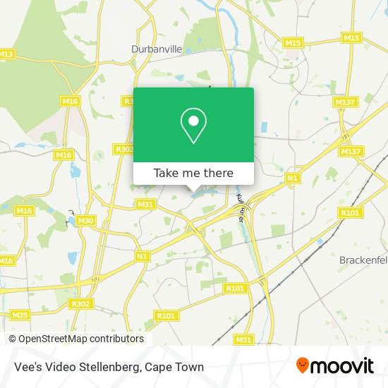 Vee's Video Stellenberg map