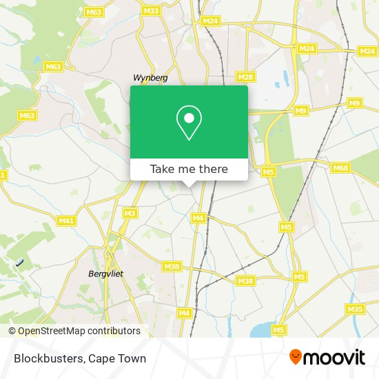 Blockbusters map