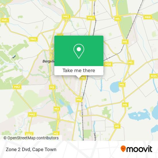 Zone 2 Dvd map