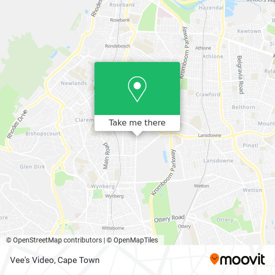 Vee's Video map