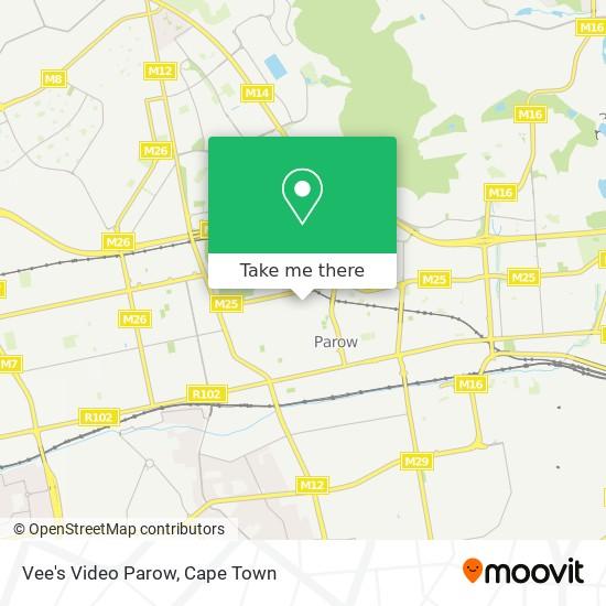 Vee's Video Parow map