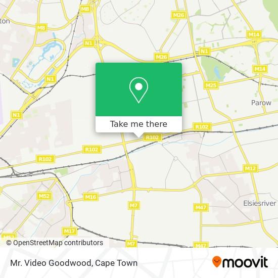 Mr. Video Goodwood map