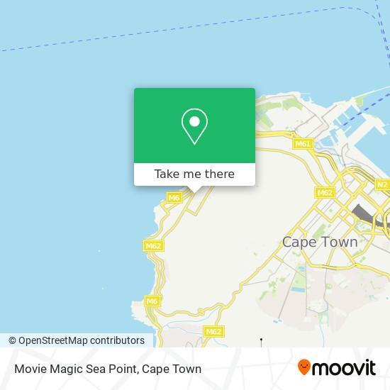 Movie Magic Sea Point map