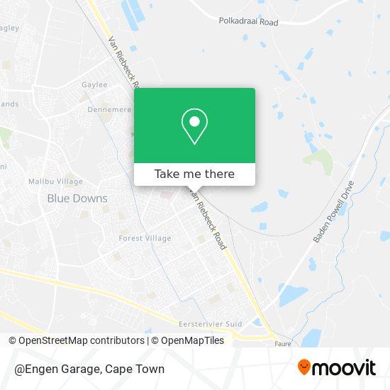 @Engen Garage map