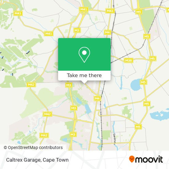 Caltrex Garage map