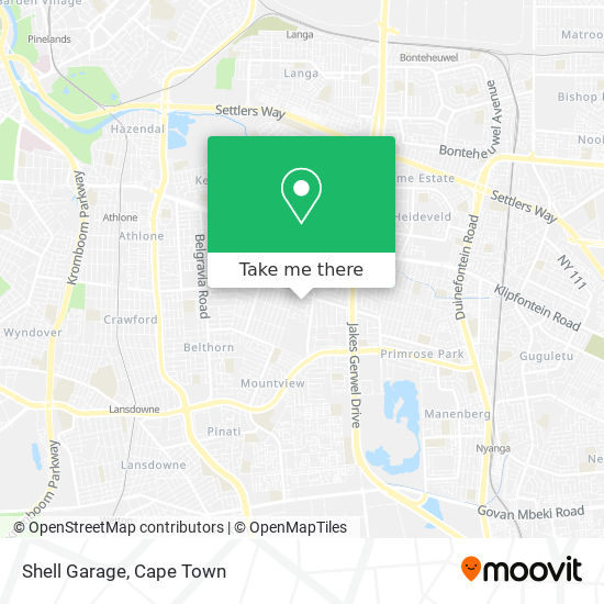Shell Garage map