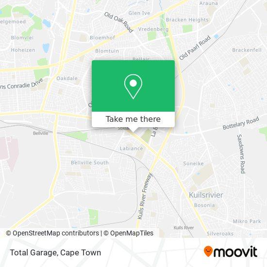 Total Garage map