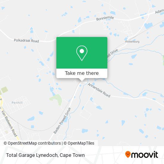 Total Garage Lynedoch map