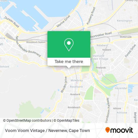 Voom Voom Vintage / Nevernew map