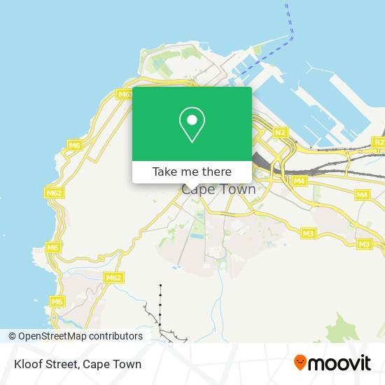 Kloof Street map