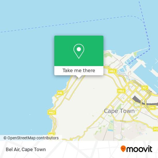 Bel Air map
