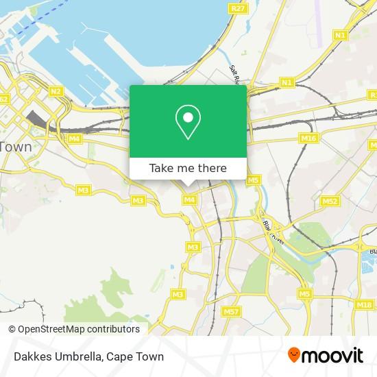Dakkes Umbrella map