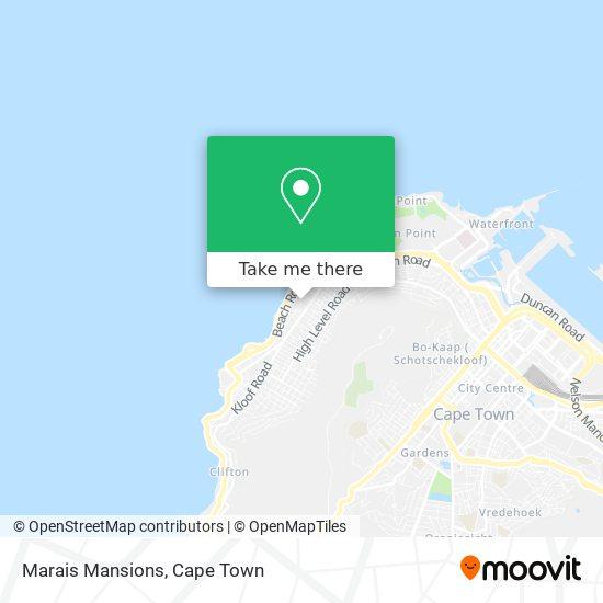 Marais Mansions map