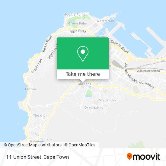 11 Union Street map