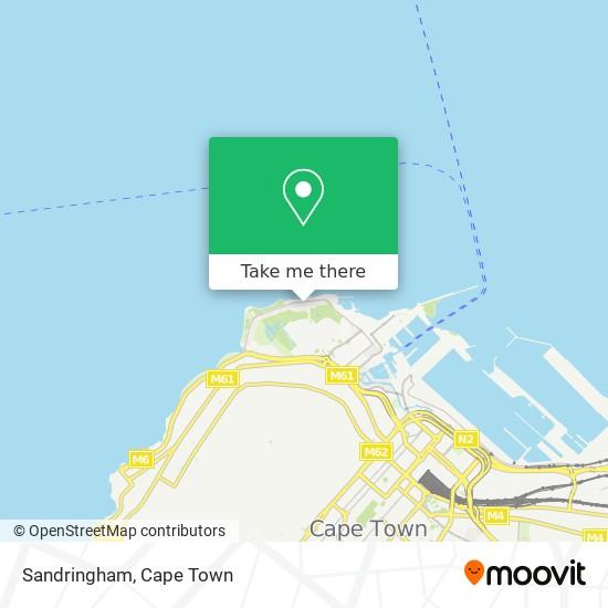 Sandringham map