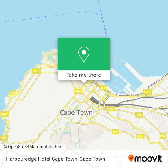 Harbouredge Hotel Cape Town map